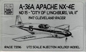 1/72 High Planes 72016; A-36A APACHE City of Lynchburg VA 1947 Cleveland Racer
