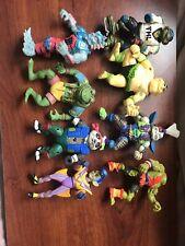 Original Vintage 1990's TMNT Teenage Mutant Ninja Turtles LOT Playmates Figures