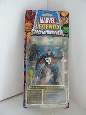 MARVEL Legends Showdown Figura Black Costume Spider man difetto errore di stampa