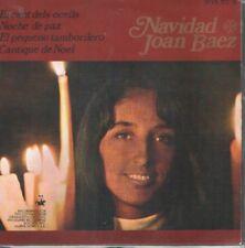 JOAN BAEZ EP Spain 1968 El cant dels ocells +3 CHRISTMAS SONGS
