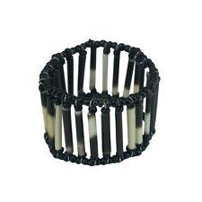 Maasai Market Africa Handmade Jewelry Porcupine Quill Masai Bead Bracelet 529-56