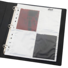 50x Acid-Free 4x5 B&W Film Photo Archival Storage Sheets Pages Slide Protector
