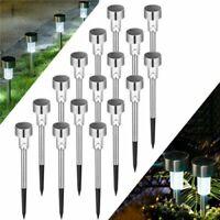 12pcs Solar Garden LED Lights Outdoor Waterproof Landscape Lawn Pathway LED Lamp