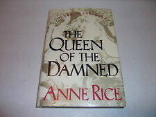 THE QUEEN OF THE DAMNED--SIGNED--ANNE RICE--1ST/1ST--HARDCOVER