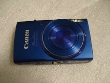 LikeNew Canon PowerShot 150 IS IXUS 155 20MP Digital Camera Blue