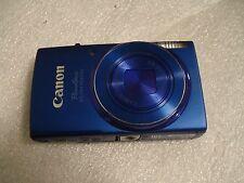 LikeNew Canon PowerShot 150 IS IXUS 155 20MP Digital Camera Blue
