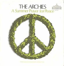 ARCHIES--PICTURE SLEEVE  + 45--(A SUMMER PRAYER FOR PEACE)--PS--PIC--SLV