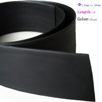 Schrumpfschlauch schwarz 2:1 mit Kleber Meterware bis Rolle