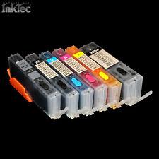 mini CISS Tinte refill ink set für Canon Pixma grey MG7750 MG7751 MG7752 MG7753