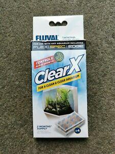 Fluval Clear X Algae Control Treatment - New in Box