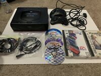 sega saturn console Model Mk80000a With 8 Game 2 Controller Look At Description