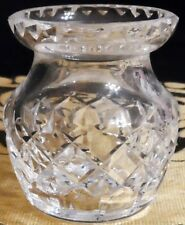 WATERFORD CRYSTAL CUT GLASS SMALL VASE - VINTAGE & BEAUTIFUL!