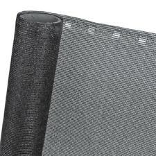 Zaunblende Sichtschutz Windschutz Balkonblende Netz schwarz HaGa® 10mx1,5m