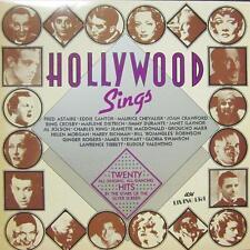 Various Easy Listening(Vinyl LP)Hollywood Sings-ASV-AJA 5011-UK-Ex-/NM