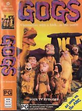 GOGS TELEVISION SERIES VOLUME 1 VHS VIDEO PAL CLAYMATION ABC TV