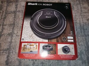 SHARK ION ROBOT R75 Vacuum Cleaner WiFi ENABLED Smart Sensor Navigation in Box