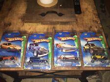 Hot Wheels 2010 Treasure Hunt Lot Of 4 Cars Shelby Cobra Classic Packard Beetle+