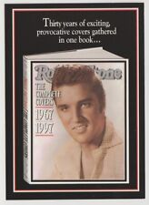 ELVIS PRESLEY Rolling Stone Complete Covers Tower Records Postcard 1997