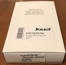 Décodeur Sound X72500 HJ2167/50 ESU LokSound V4 + HP Jouef HO SNCF #piko #roco
