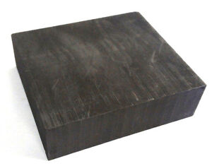 Graphite Blank Block Sheet Plate High Density Fine Grain 1'' X 2'' X 4''