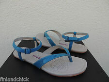 TSUBO BELLAH DUSKY SKY PATENT LEATHER ANKLE STRAP SANDALS, US 10/ EUR 41 ~NIB