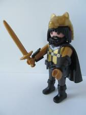 Playmobil Castle knight/barbarian figure with wolf headdress & sword NEW