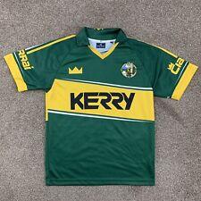 Kerry Soccer Ciarrai Ireland Jersey Green Yellpw Size Small S Dolmen Clothing