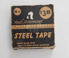 Red Diamond White Blade Steel Tape Measure No. T50 R13821