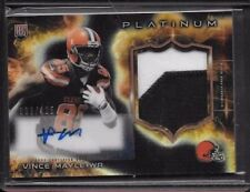 2015 TOPPS AUTO ROOKIE REFRACTOR PATCH CARD VINCE MAYLE BROWNS