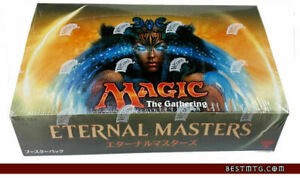 Magic The Gathering Japanese Eternal Masters Booster Box [Perfect Condition]