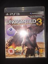 UNCHARTED 3: DRAKE'S DECEPTION | PS3 PLAYSTATION 3 GAME