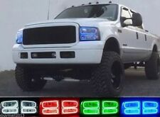4x RGB LED Angel Eyes kit Multi-Color Ultrabright angel For 2005-2007 Ford F250