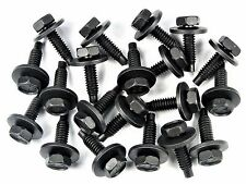 """Buick Body Bolts- 1/4"""" x 15/16"""" Long- 7/16"""" Hex- 3/4"""" Washer- 20 bolts- #174"""