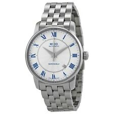 New Mido Baroncelli Automatic Silver Dial Stainless Steel Men's Watch M86004211