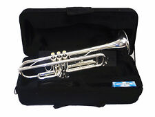 Woodnote TP-750SL - Silver / Monel Valves Bb Trumpet with Case