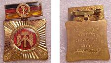 VINTAGE EAST GERMAN SOCIALIST LABOR PIN (GDRMEDAL)