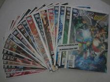 Run of 20 comics DC Comics JUSTICE LEAGUE OF AMERICA #s 15-34 UNREAD 2008-09