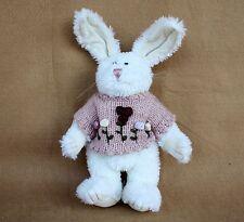 Boyds Bears Plush Millie Hopkins White Chenille Bunny Dressed 1999 Retired HTF