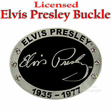 Elvis Presley Lizenz Buckle Rockabilly Gürtelschnalle Rock`n Roll Music *343