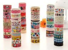 60 kawaii lace mixed lot deco tapes scrapbooking sticker N106