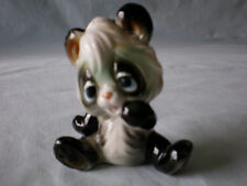 Vintage Josef Originals Adorable Black & White Ceramic Big-Eyed Baby Panda Bear