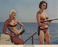 Elke Sommer, Sylva Koscina - Deadlier Than the Male (1967)  - 8 1/2 X 11