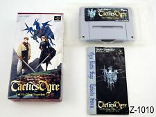 Complete Tactics Ogre Super Famicom Japanese Import JP SFC Japan US Seller B