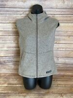 REI Full Zip Hiking Vest Size XS Womens Brown Casual Fall Spring Outdoors