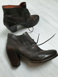 Airstep A.S.98 Boots Leather Brown Size EU 40 US 9.5