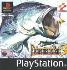 FISHERMAN'S BAIT 3  ULTRA RARE PICTURE VERSION COMPLETE PS1