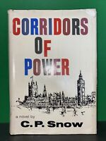 Corridors of Power by C. P. SNOW  HC/DJ Book of the month club selection Good co