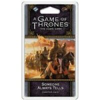 GAME OF THRONES LCG SOMEONE ALWAYS TELLS EXP GAME BRAND NEW & SEALED