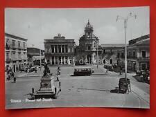 VITTORIA autobus bus Piazza del Popolo Ragusa vecchia cartolina
