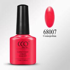 CCO UV/LED Gel Nail Polish. Cosmopolitan . Bright Coral Tangerine Red